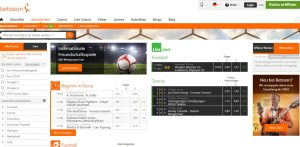 betsson plattform screenshot